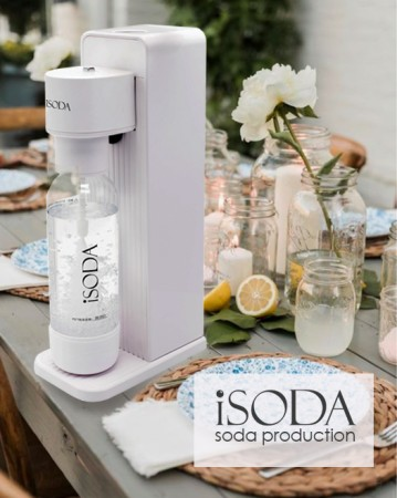 iSoda 全自動直打飲品氣泡水機 IS-600