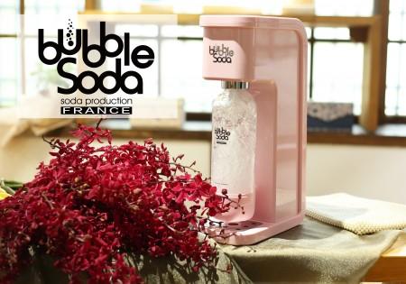 全自動氣泡水機-花樣粉紅BS-304