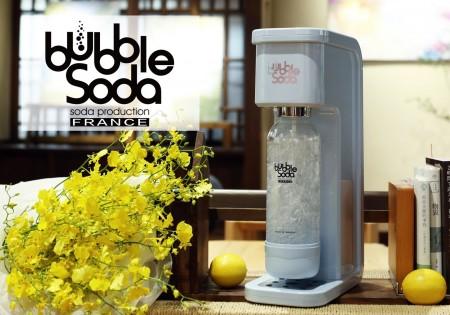 全自動氣泡水機-花樣沁藍BS-305