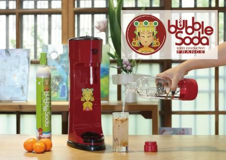 專利免插電可調式氣泡水機 BS-809 鎮瀾宮大甲媽祖聯名款